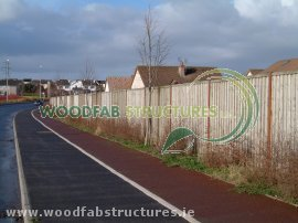 Woodfab acoustic barriers
